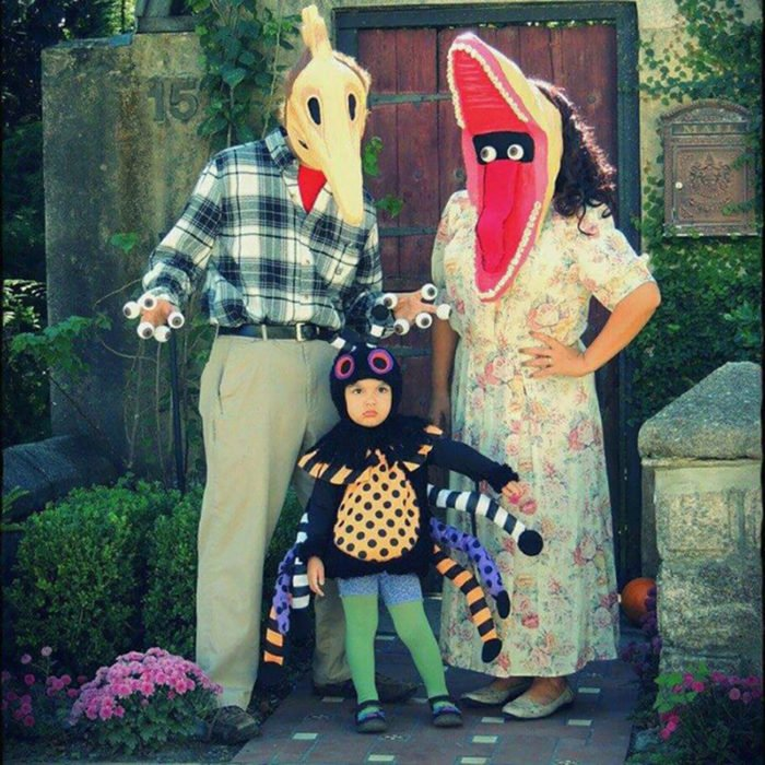 familia Beetlejuice disfraz