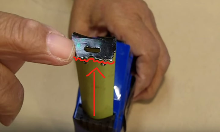 agujero de cinta métrica