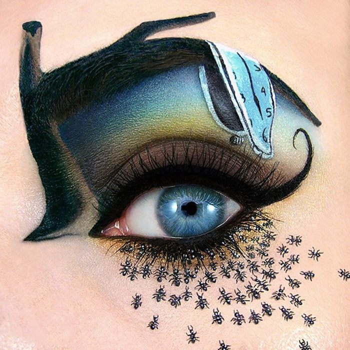 The Top 10 Viral Moments Of 2016: 20 Maquillajes De Ojos Que Te Harán Destacar Este Halloween