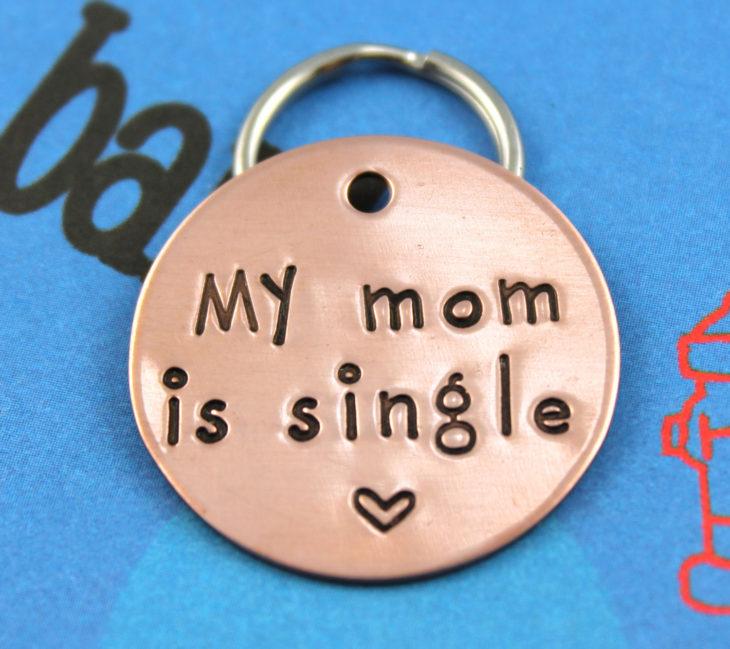 collar de mascota mi mamá está soltera