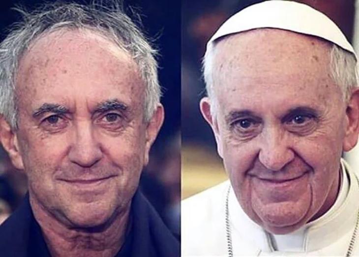 jonathan price y papa francisco