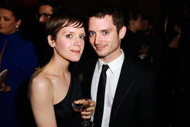 Elijah Wood y su hermana Hannah