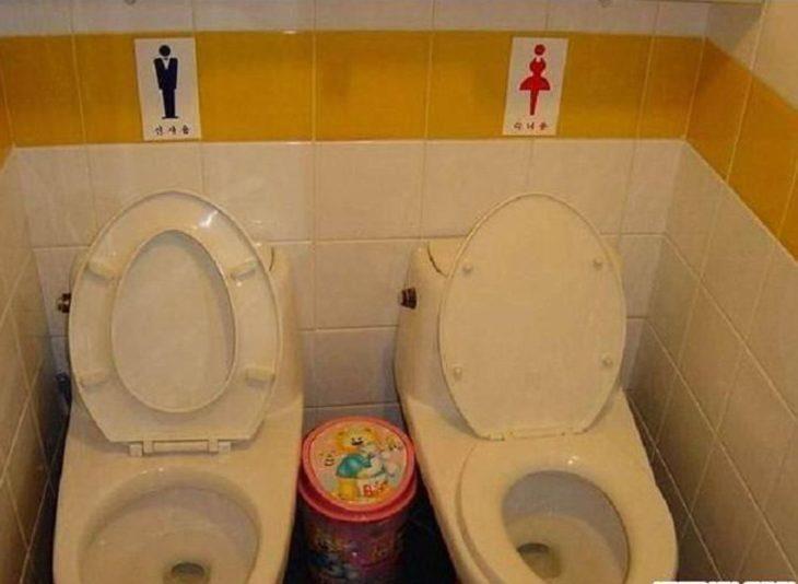 baño hombres y mujeres