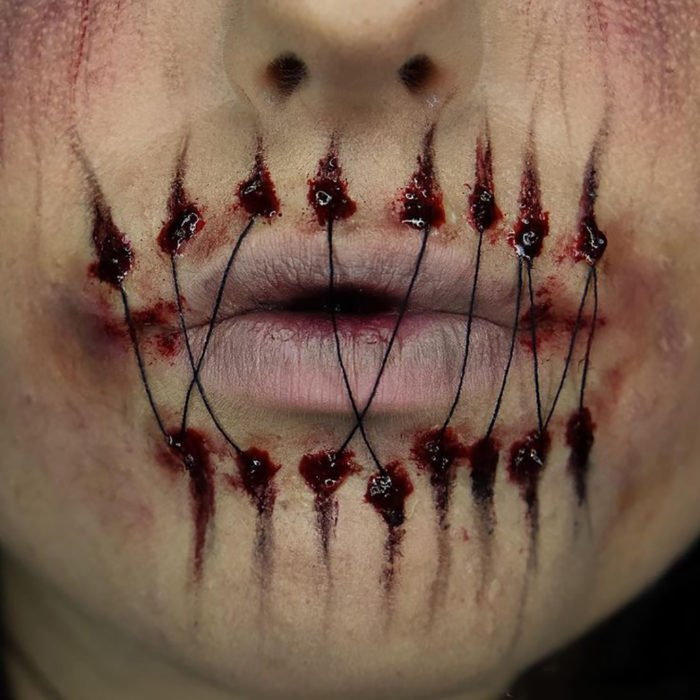 Incre bles dise os para pintar tus labios este halloween info taringa - Disenos para pintar ...