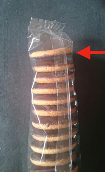 paquete de galletas