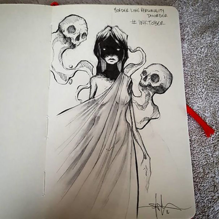 ilustración Trastorno Límite de la Personalidad