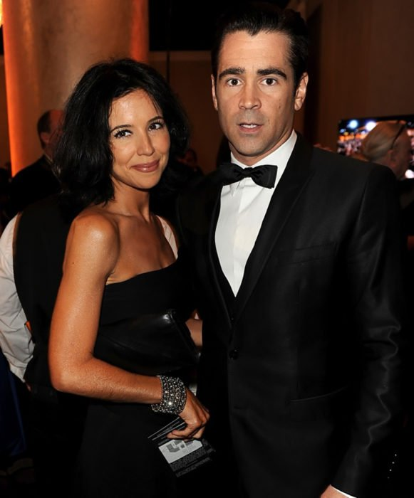 Collin Farrel y su hermana Claudine