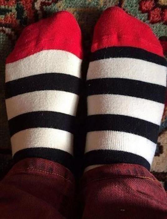 calcetas impares