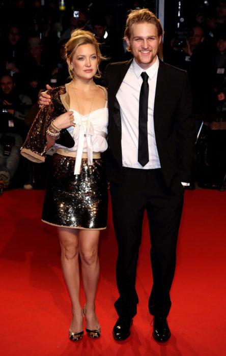 Kate Hudson y su hermano Wyatt Russell