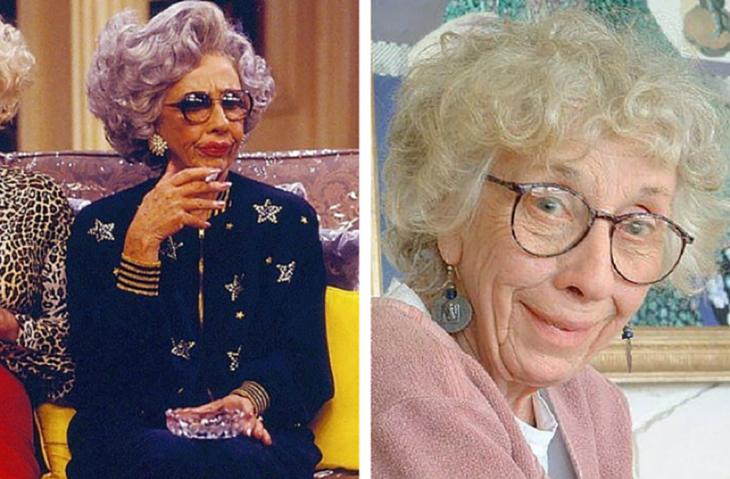 Ann Morgan Guilbert como la abuelita Yetta Rosenberg