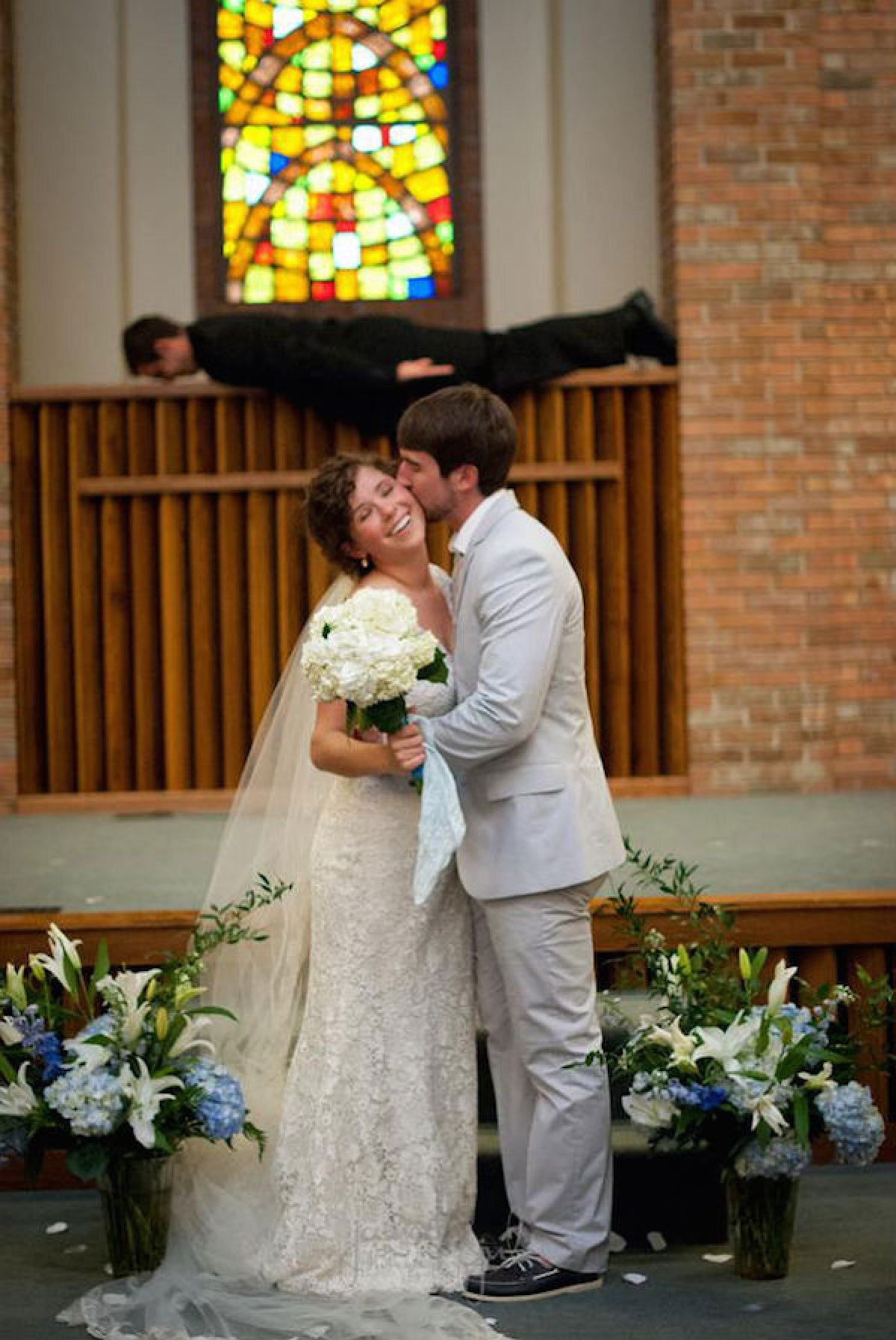 Смешные фото с свадьбы