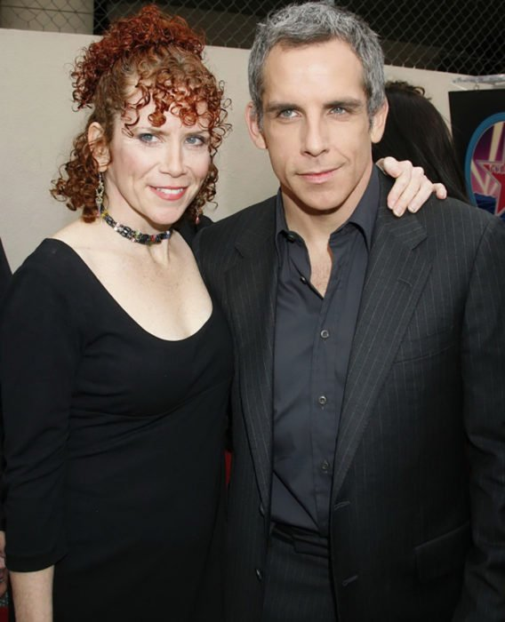 Ben Stiller y su hermana Amy