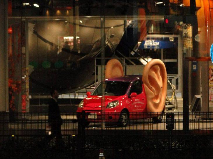 carro con orejas grandes