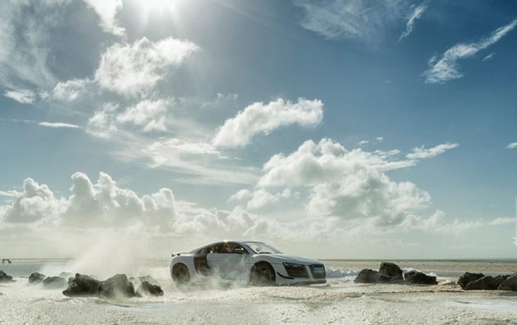 Audi en el desierto