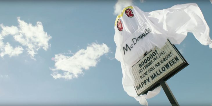 Burger King fantasma McDonalds