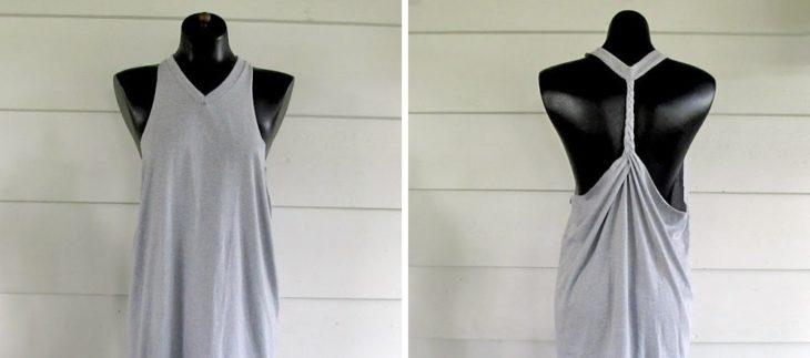vestido de blusa