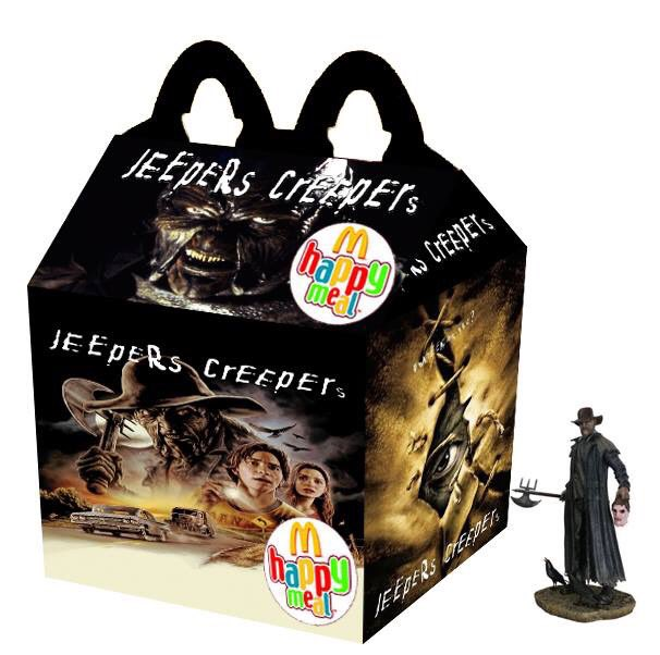Cajita feliz mcDonalds adultos - jeepers creepers