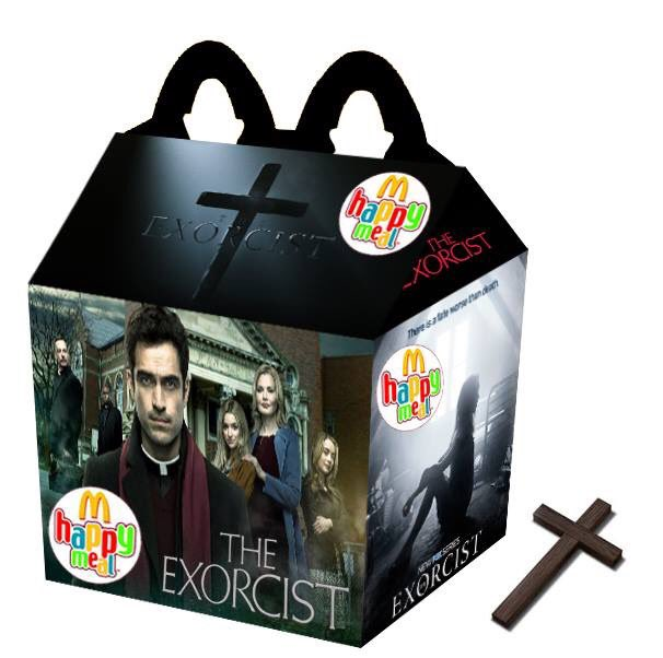 Cajita feliz mcDonalds adultos - the exorcist
