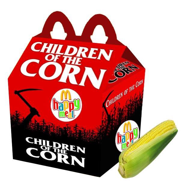 Cajita feliz mcDonalds adultos - children of the corn