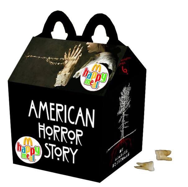 Cajita feliz mcDonalds adultos - american horror story