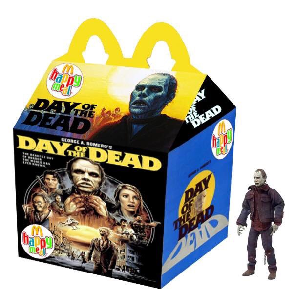Cajita feliz mcDonalds adultos - day of the dead