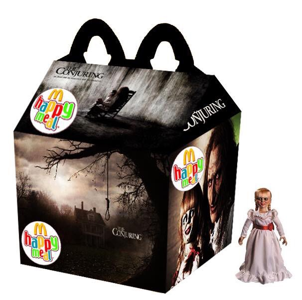 Cajita feliz mcDonalds adultos - the conjuring