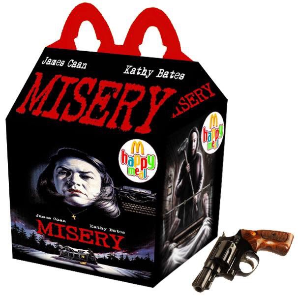 Cajita feliz mcDonalds adultos - misery