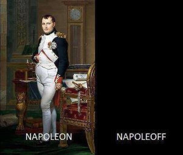 Chistes malos - napoleon