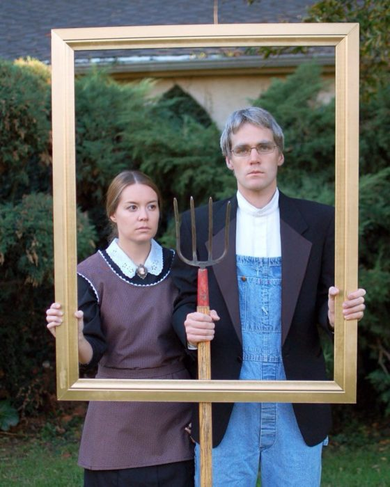 grant wood halloween costume 2016