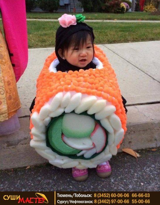 bwbtia disfrazada de sushi