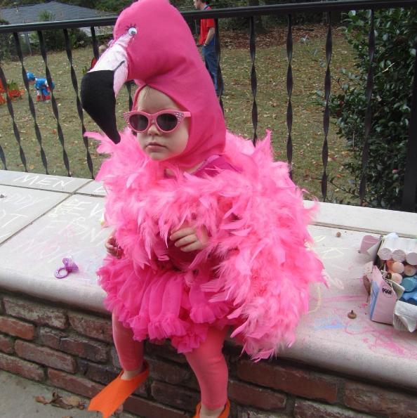 Disfraces niños flamingo