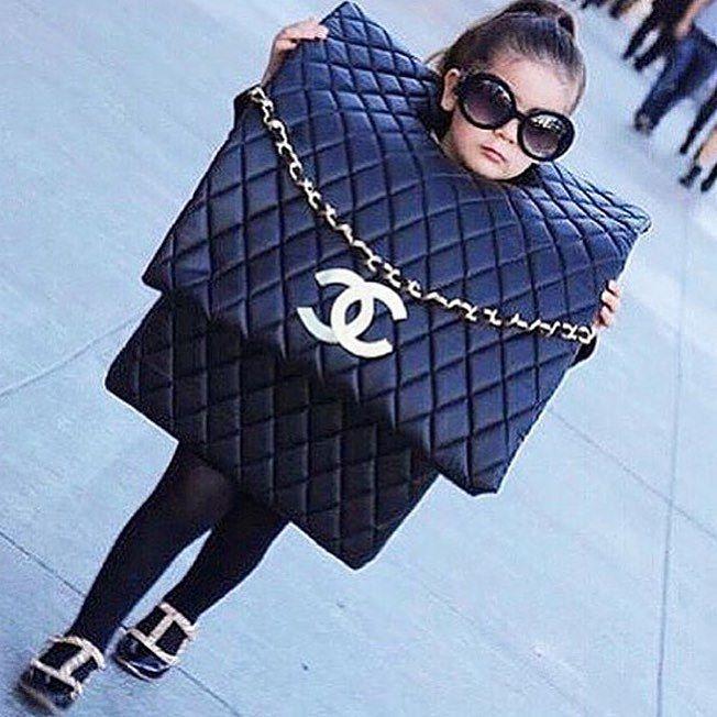 Disfraces niños bolsa channel