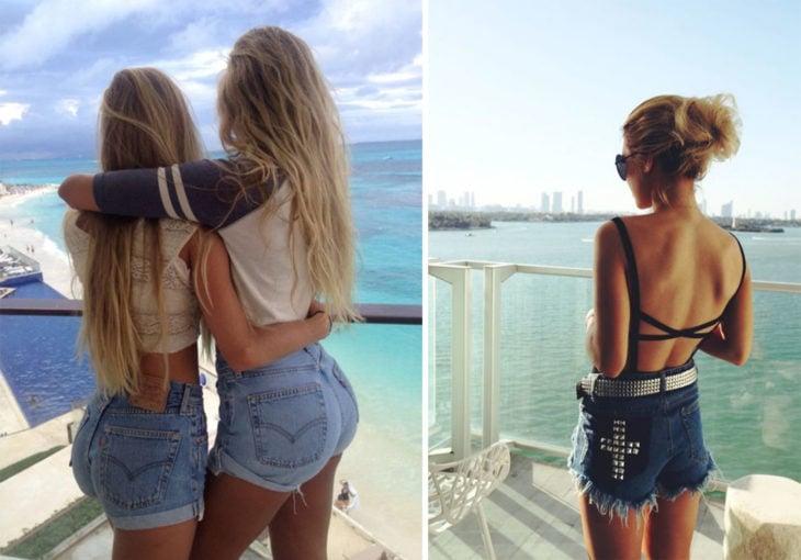 2 Tipos de chicas - con trasero o sin trasero