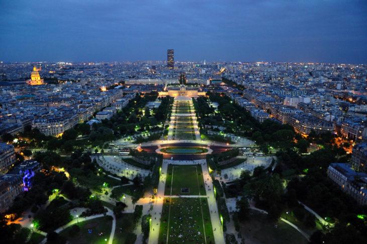 PARIS VISTO DESDE LA TORRE EIFEEL