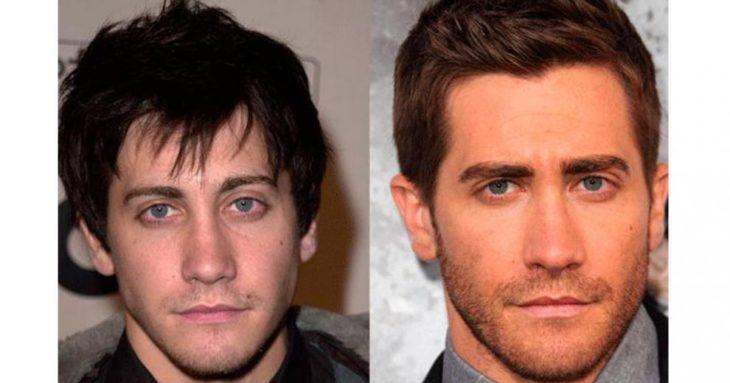 Jake Gyllenhaal antes e depois