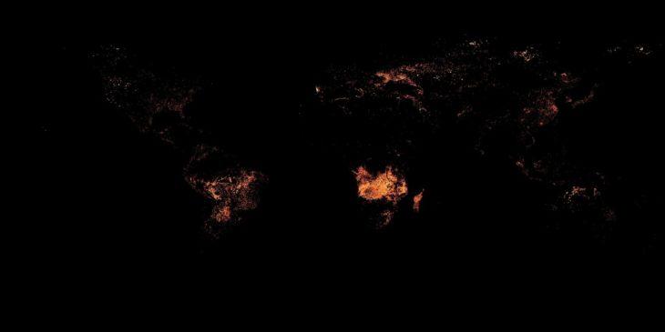 Mapas curiosidades mundo - incendios
