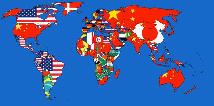 Mapas curiosidades mundo - exportaciones