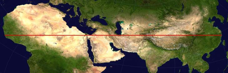 Mapas curiosidades mundo - linea vertical