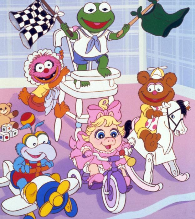 Imagen de los Muppets babies jugando