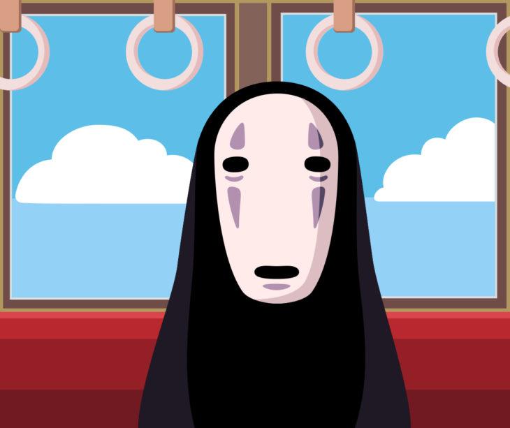 Personaje Sin Cara película El viaje de Chihiro