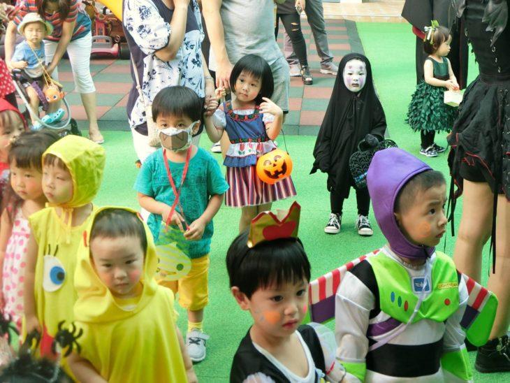 Festival de Halloween guardería Taiwán