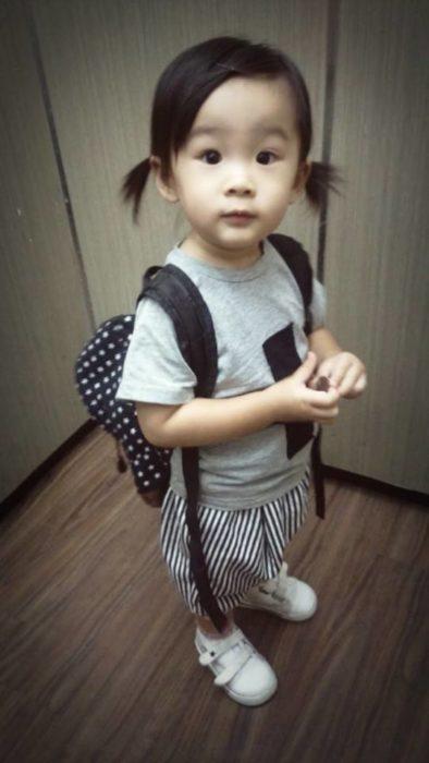 Momo Lu, niña de Taiwán de 2 años