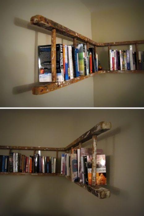 escalera libros