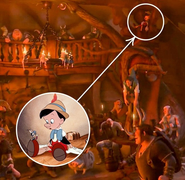 Pinocho en Enredados
