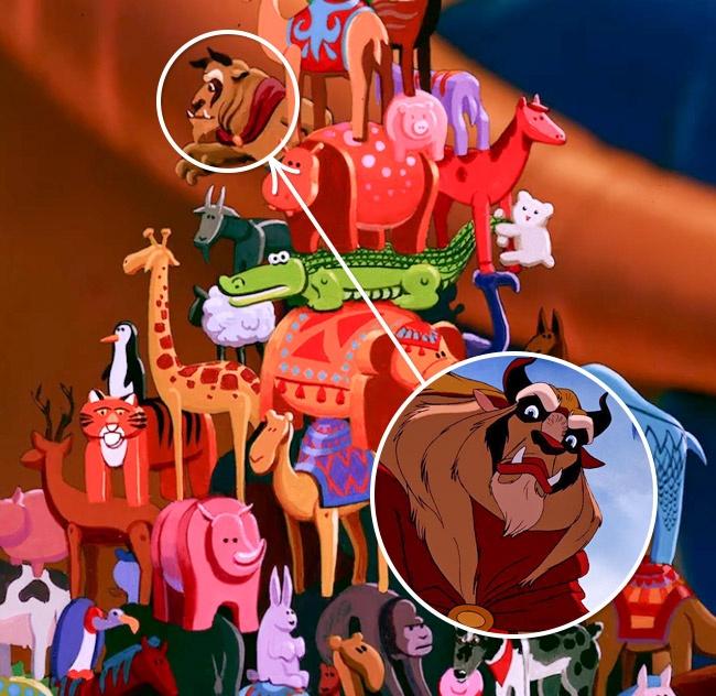 La Bestia en Aladdin