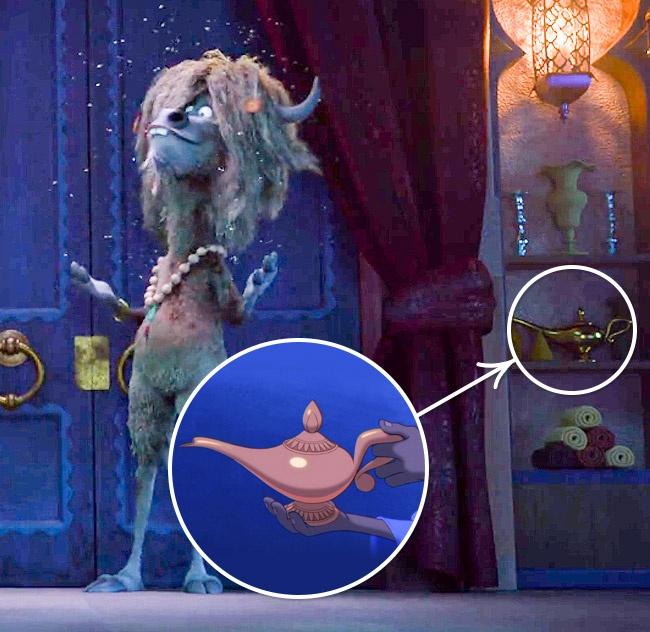 La lámpara mágica en Zootopia