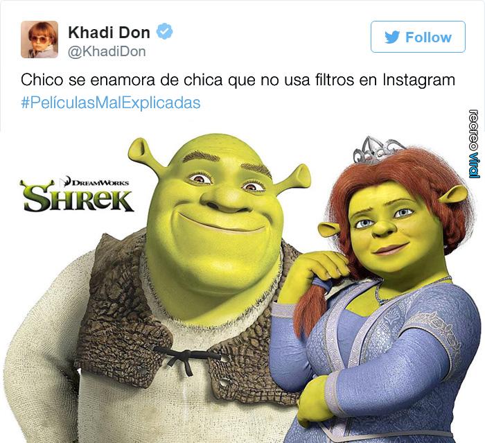 Peliculas Mal Explicadas - Shrek