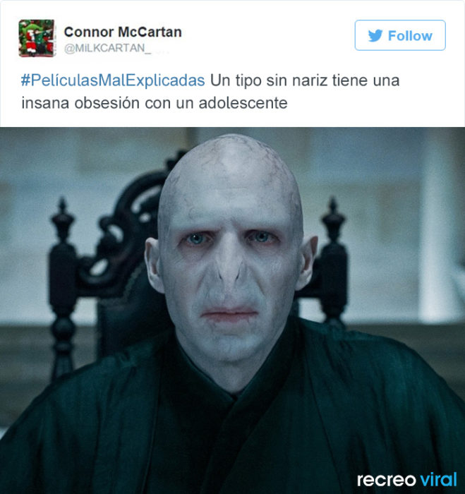 Peliculas Mal Explicadas - Harry Potter voldemort