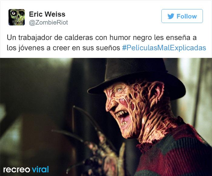 Peliculas Mal Explicadas - Freddy Krueger
