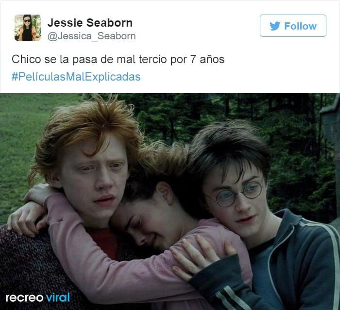 Peliculas Mal Explicadas - Harry Potter